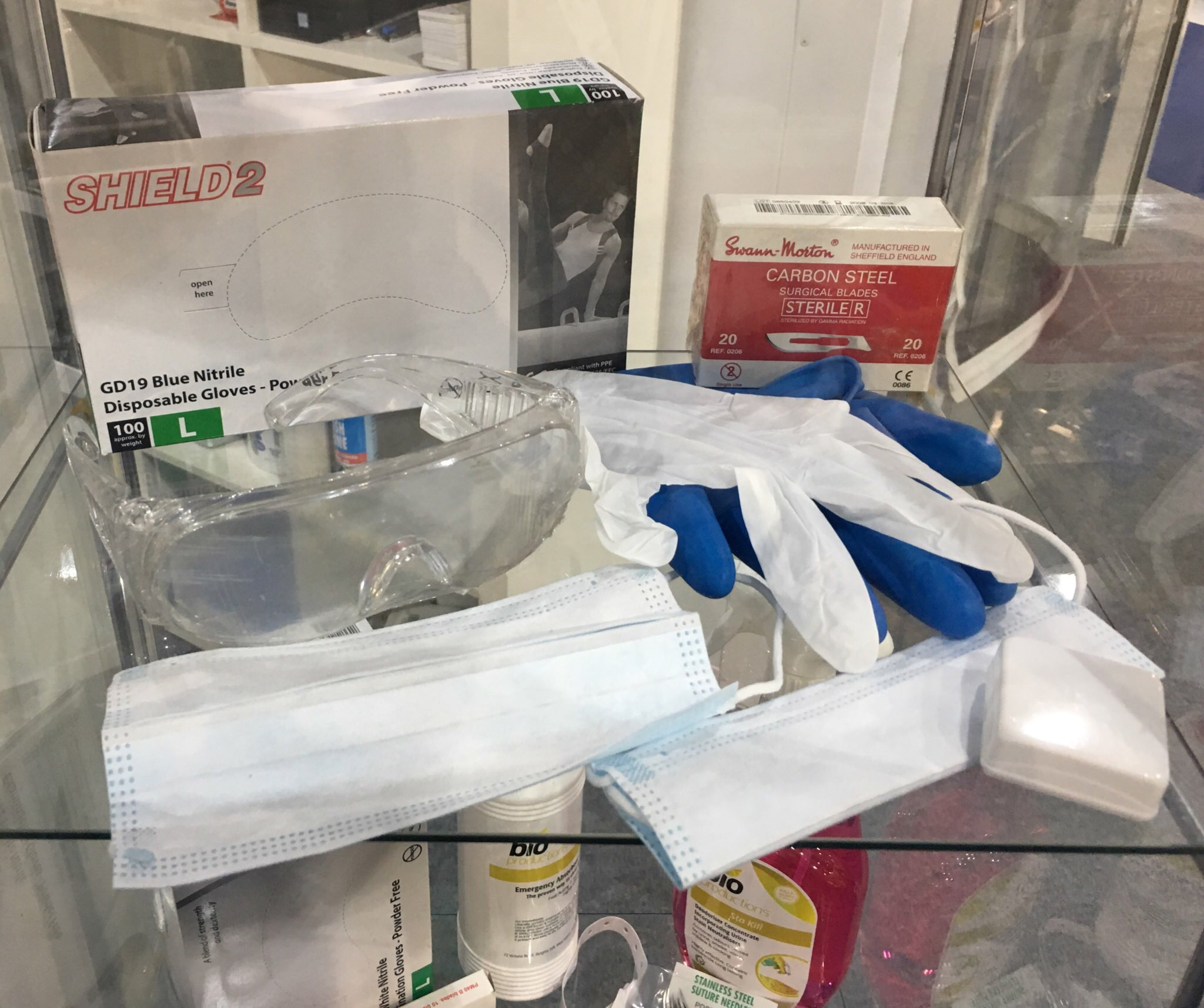 Embalming Materials and Accessories