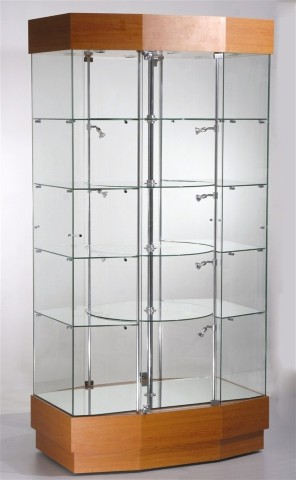 Rotating Display Cabinets