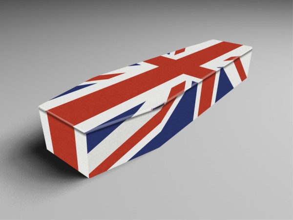 Coffins Military and flags
