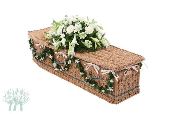 Wicker and willow coffins