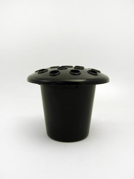 Plastic grave vase