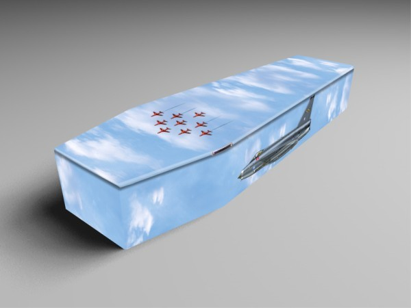 Set sail, english electric and 4x4 printed coffins