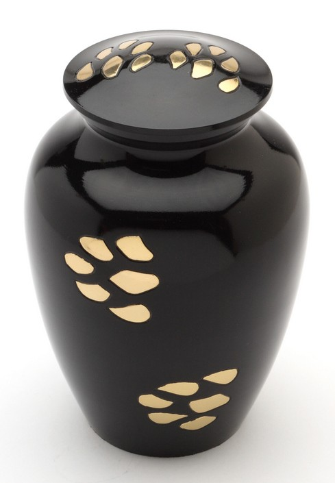 Pet Urn Bedford Black 7'' medium