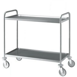 Stainless Steel Mortuary Trolley - holds 80kg