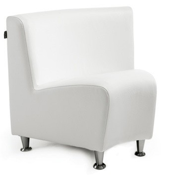Elegance waiting chair CURVED