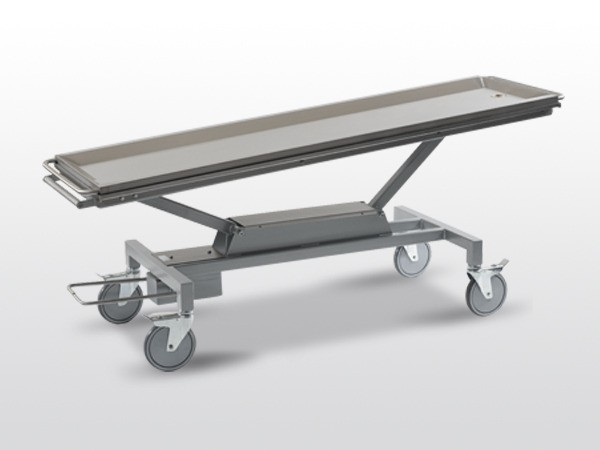 Inclinable Body Trolley with Adjustable Height