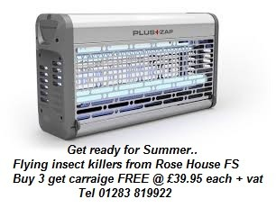 Insectocutor - Flying insect killer