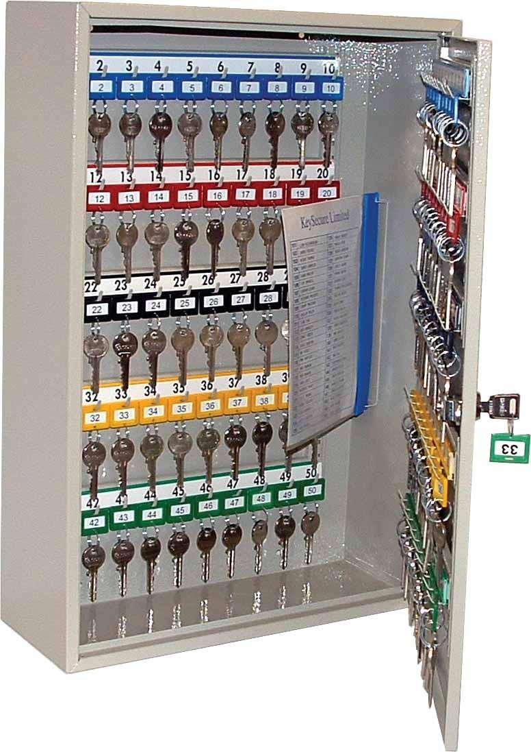 Mild Steel Key Cabinet (30/40/100 Keys)