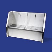 Stainless Steel Foot Wash Trough