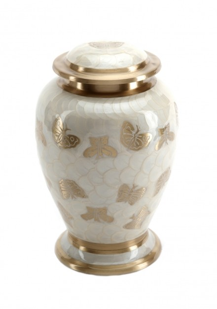 BURFORD PEARL CREMATION ASHES URN
