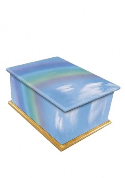 Rainbow Bridge Wooden Child/Infant Cremation Ashes Urn