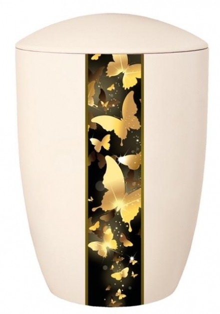 FARLEY IVORY BUTTERFLY CREMATION URN