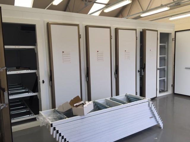 Multiple door mortuary cabinet - Shrewsbury