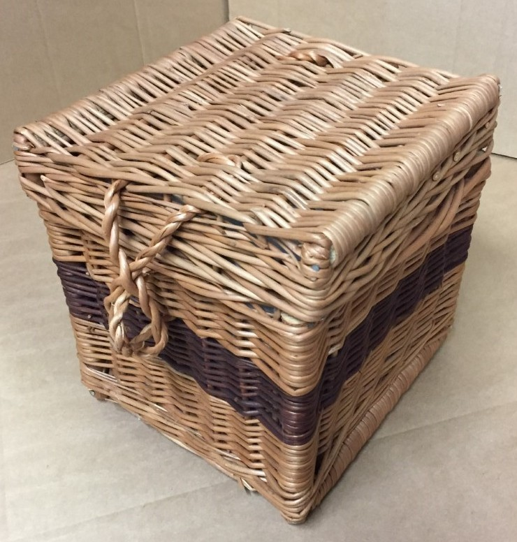 Wicker Ashes Basket 1