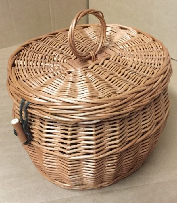 Wicker Ashes Basket 2