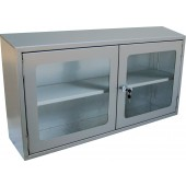 Stainless Steel Wall Cabinets (Glass Door)