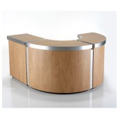 Helix Reception Desk CURVED SECTION